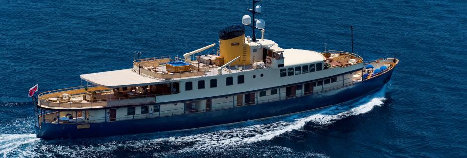 Luxury Mega Yacht Seagull II