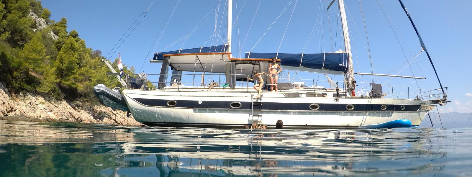 Sail boat Sinbadsan